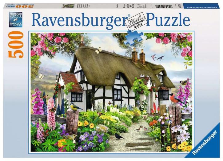 Puzzle 500 Teile Verträumtes Cottage