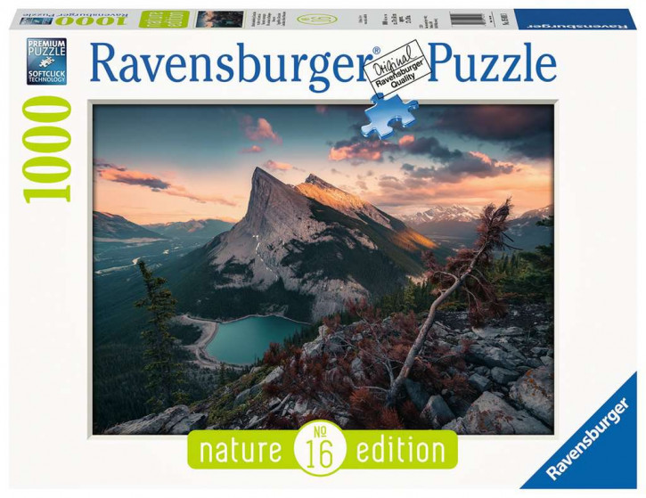 Puzzle 1000 Teile Abends in den Rocky Mount.