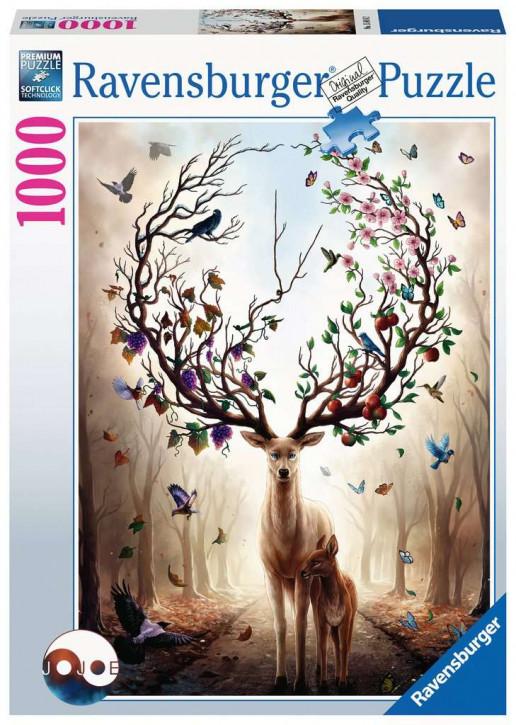Puzzle 1000 Teile Magischer Hirsch