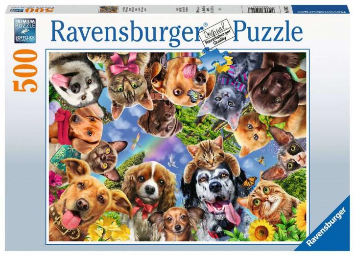 Puzzle 500 Teile Unsere Lieblinge