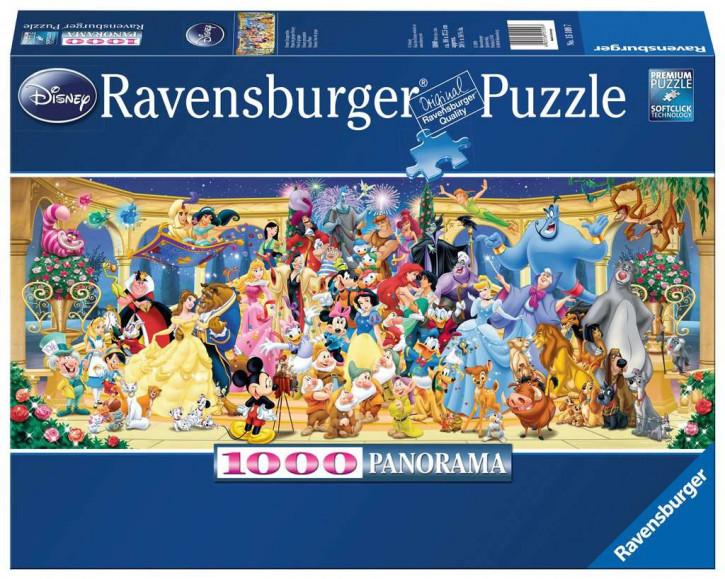 Puzzle 1000 Teile WD:Disney Gruppenfoto