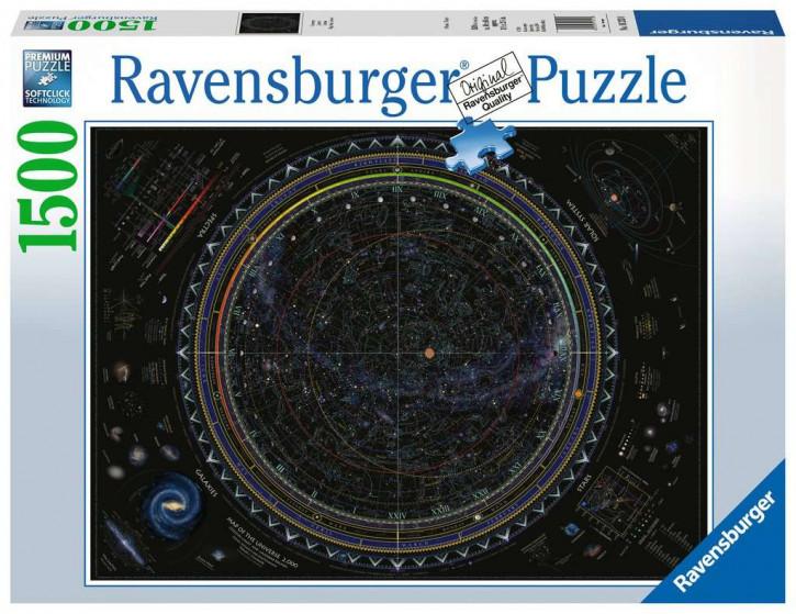 Puzzle 1500 Teile Universum
