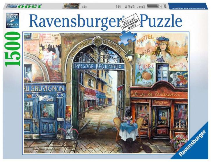 Puzzle 1500 Teile Passage to Paris