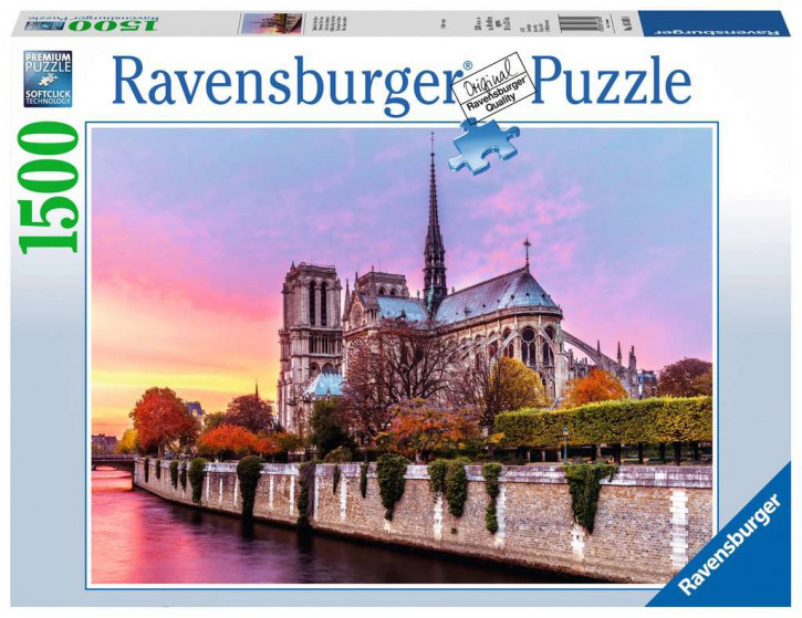 Puzzle 1500 Teile Malerisches Notre Dame
