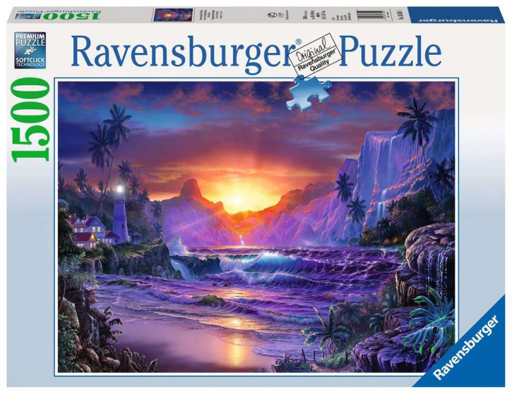 Puzzle 1500 Teile Sonnenaufgang im Paradies