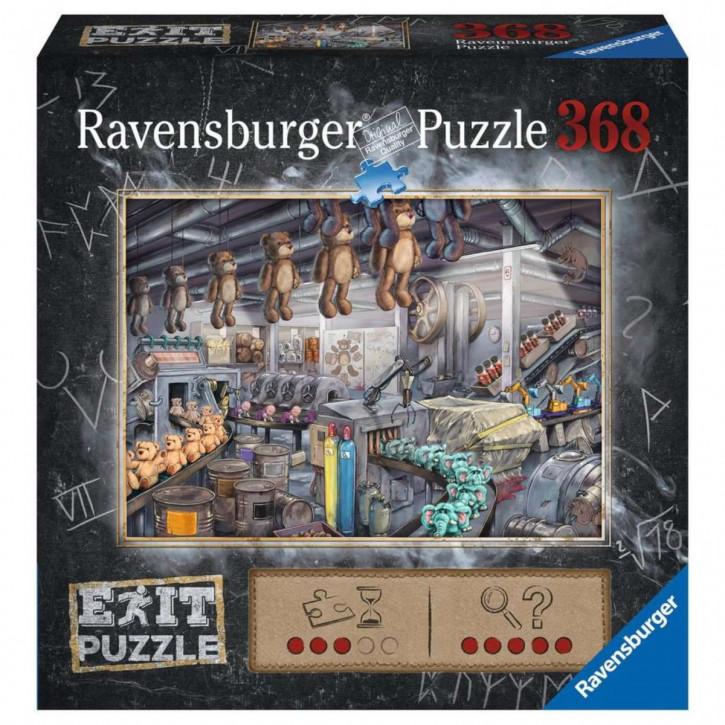 Puzzle 368 Teile EXIT In der Spielzeugfabrik
