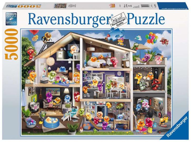 Puzzle 5000 Teile Gelini Puppenhaus