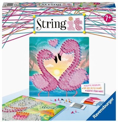 String it Midi Lama & Flamingo