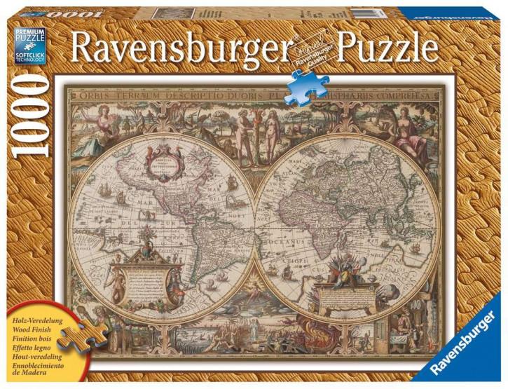 Puzzle 1000 Teile Antike Weltkarte