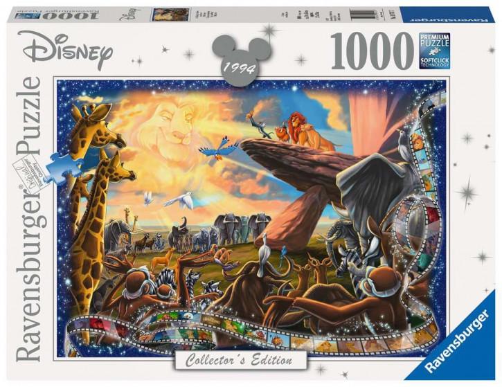 Puzzle 1000 Teile WD:Der König der Löwen