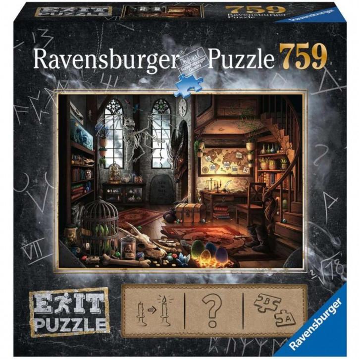 Puzzle 759 Teile EXIT Im Drachenlabor