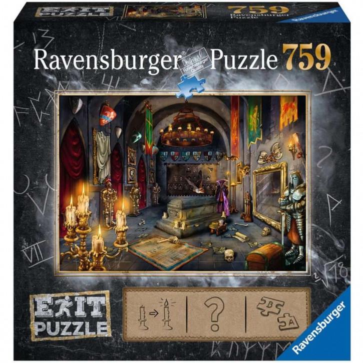 Puzzle 759 Teile EXIT Im Vampirschloss