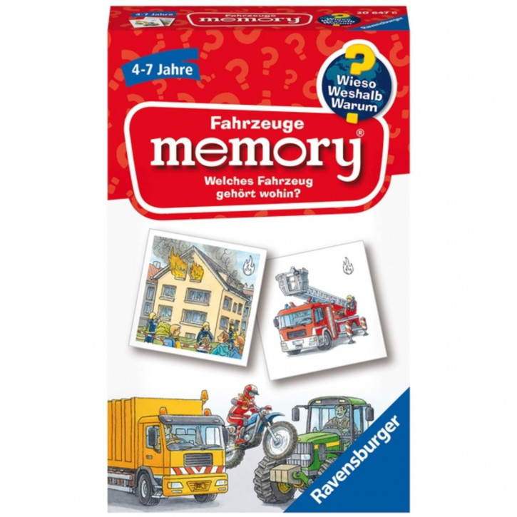 Fahrzeuge Memory