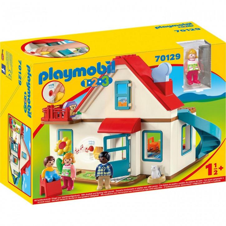 Playmobil 1-2-3 Einfamilienhaus 70129