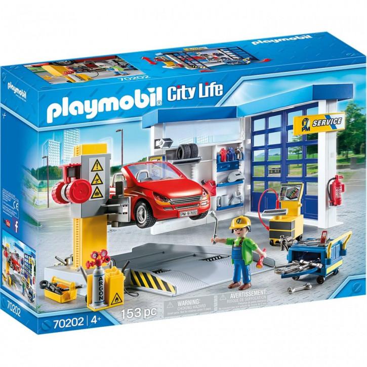 Playmobil City Life Autowerkstatt 70202