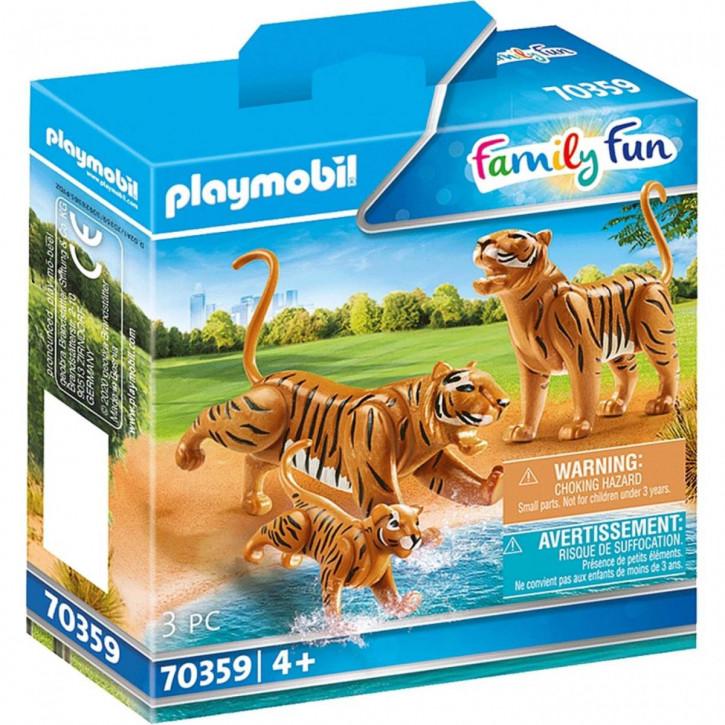 Playmobil 70359 2 Tiger mit Baby