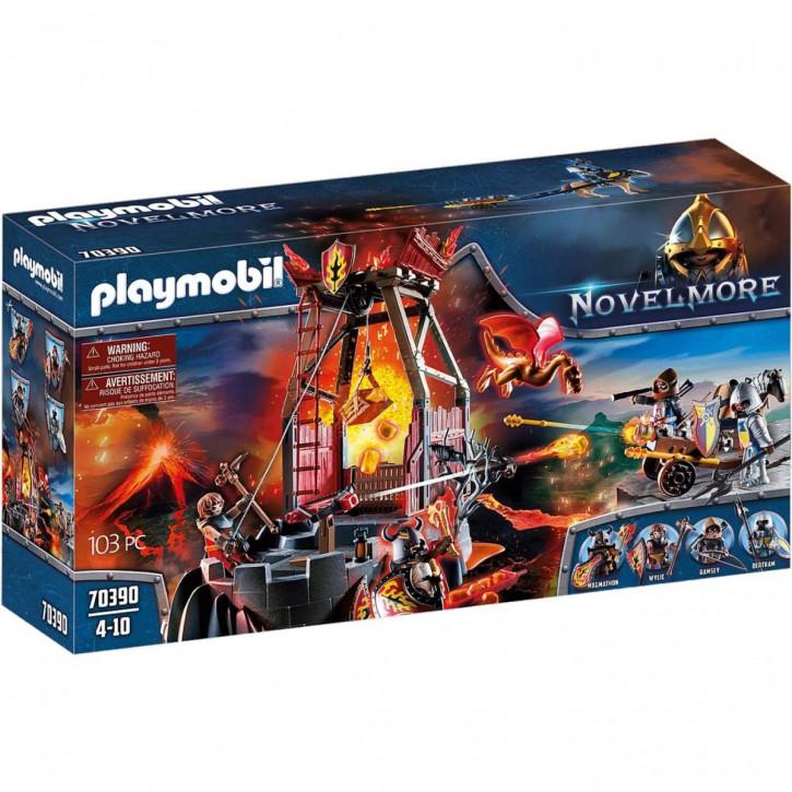 Playmobil 70390 Burnham Raiders Lavamine