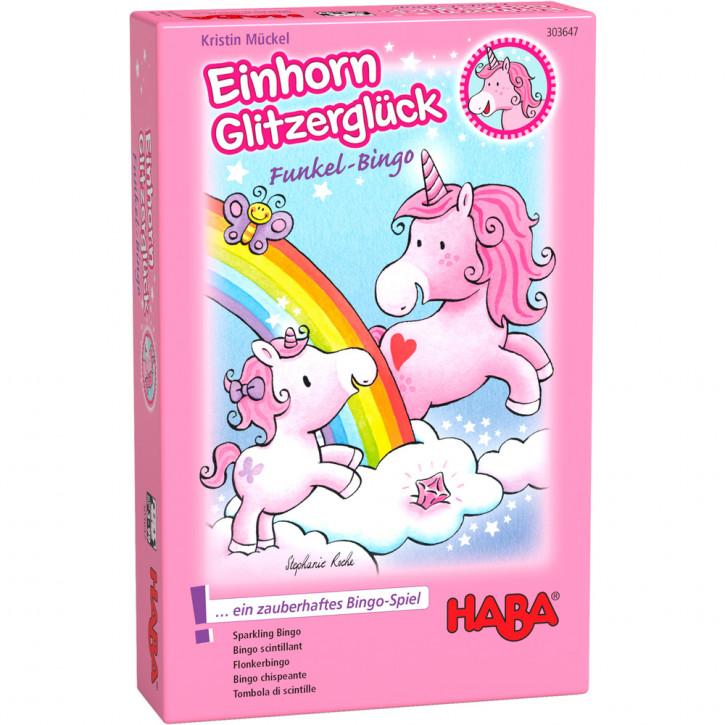 Einhorn Glitzerglück – Funkel-Bingo