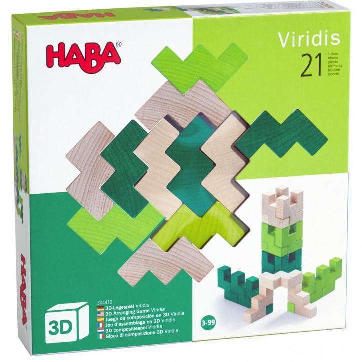 3D-Legespiel Viridis