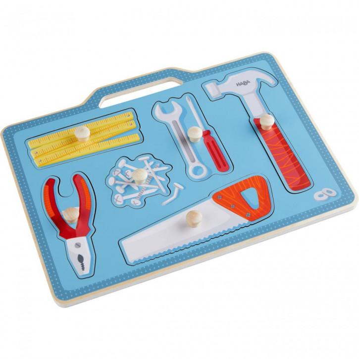 Greifpuzzle Werkzeugkasten