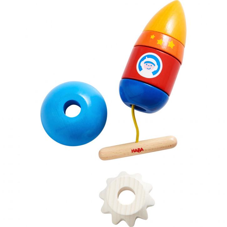 Fädelspiel Rakete