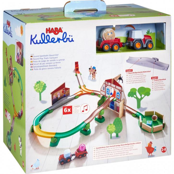 Kullerbü – Sound-Spielbahn Bauernhof