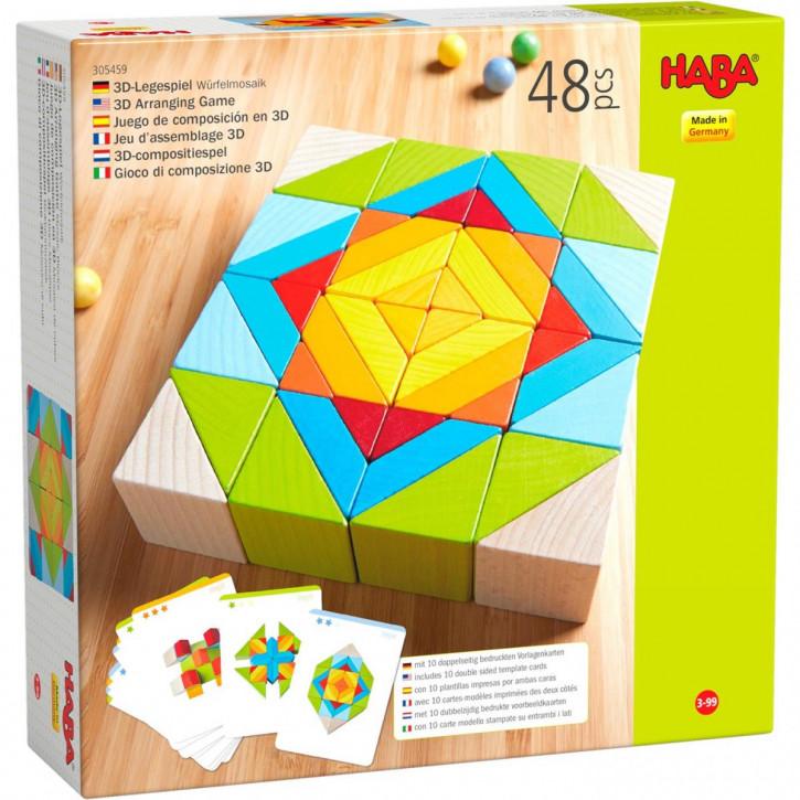 3D-Legespiel Würfelmosaik