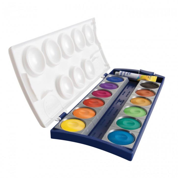 Pelikan Farbkasten K12® inkl. Deckweiß, 12 Farben