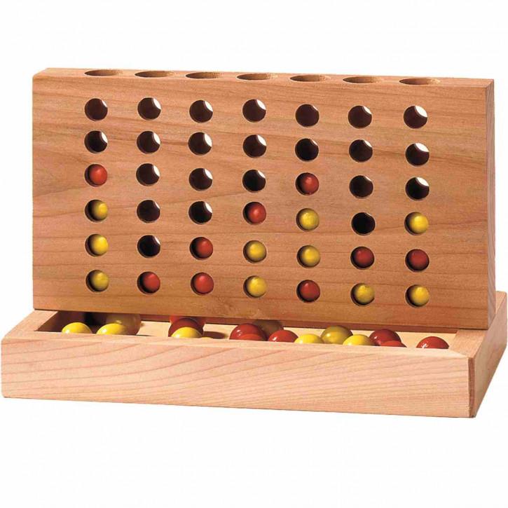 Spiel 4 gewinnt Holz