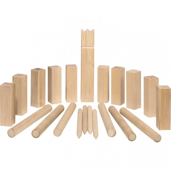 Wikingerspiel Kubb, mittlere Größe