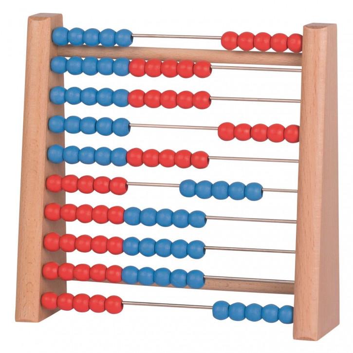 Rechenrahmen / Abacus 2farbig
