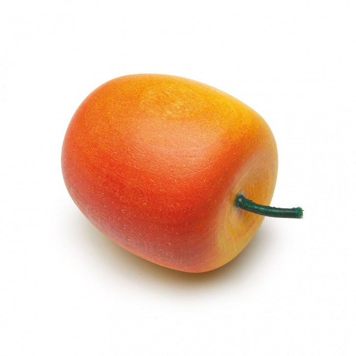 Apfel, gelb-rot
