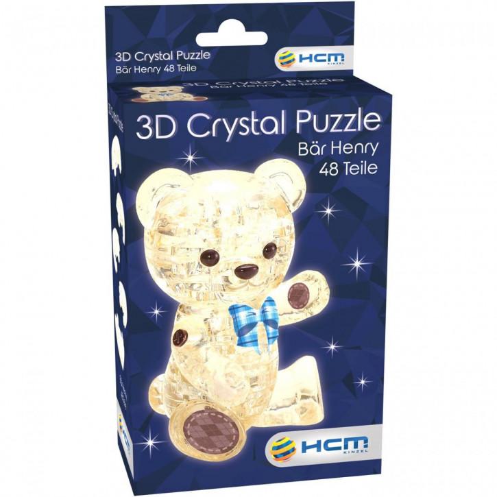 Crystal Puzzle - Bär Henry Hellbraun (48 Teile)