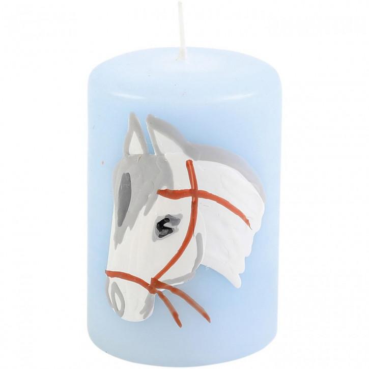 Lebenslicht Pferd, blau