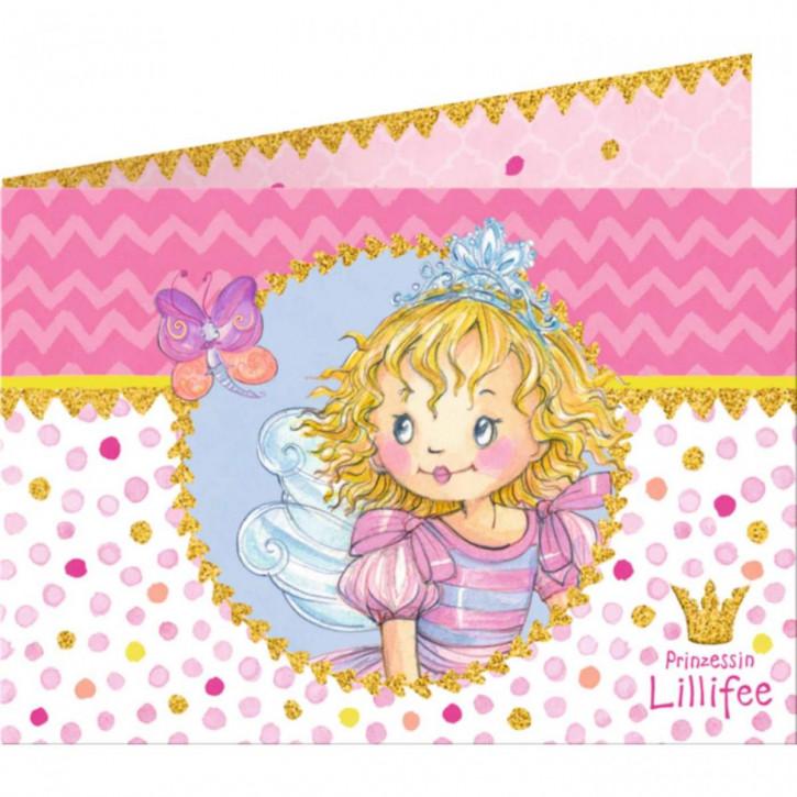 Einladungskarten Lillifee (8 St.)