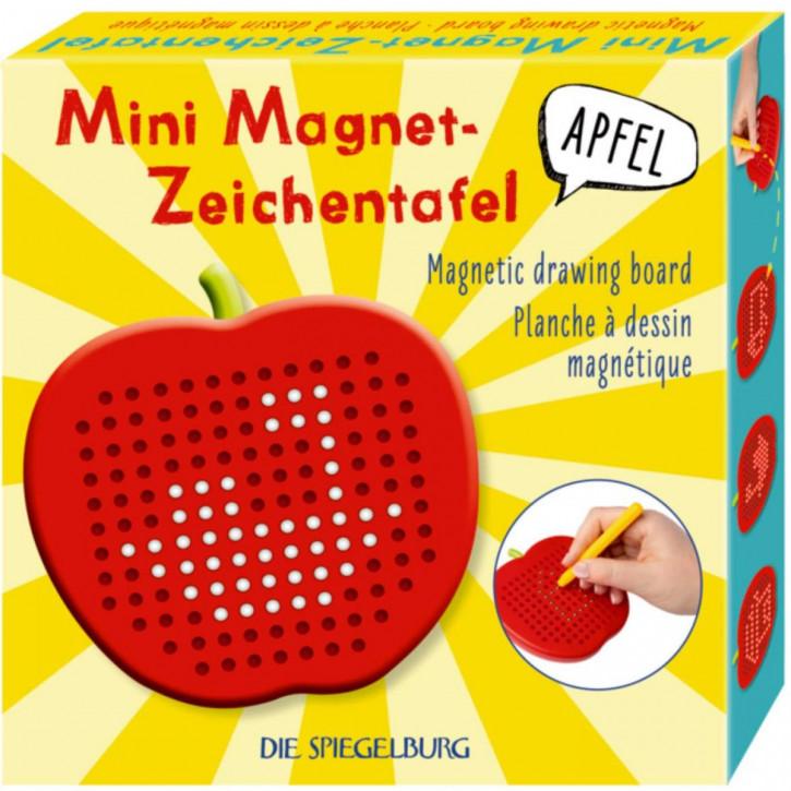 """Mini Magnet-Zeichentafel """"Apfel"""" Bunte Geschenke"""
