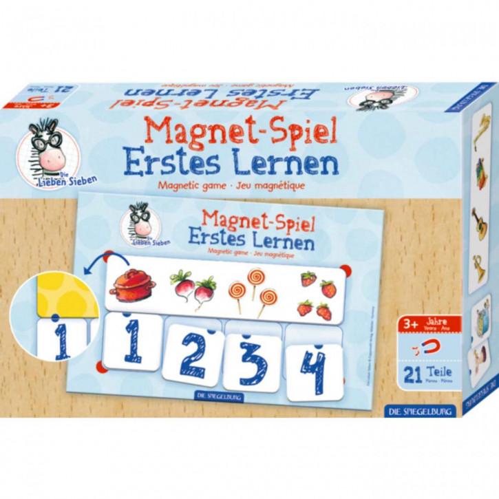 Magnetspiel Erstes Lernen Die Lieben Sieben