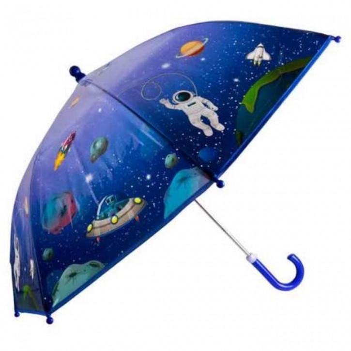Regenschirm transparent Astronaut