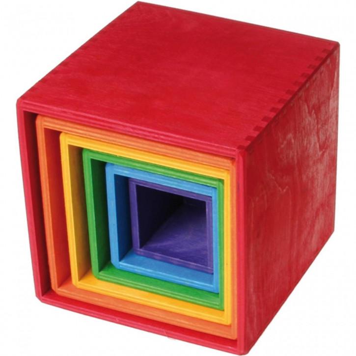 Großer Kistensatz Regenbogen