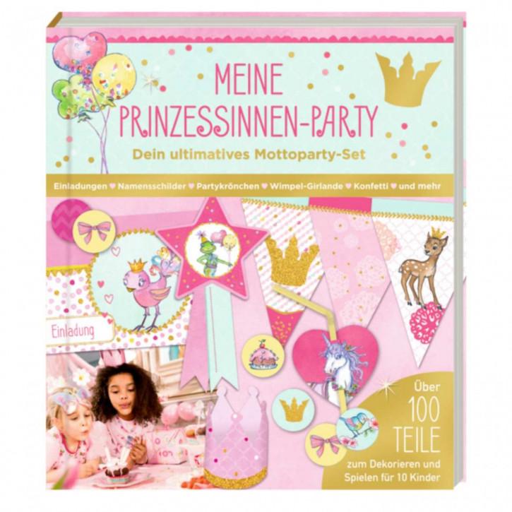Einladungskarten Aktivbuch Meine Prinzessinnen-Party (Mottoparty-Set) Prinzessin Lillifee
