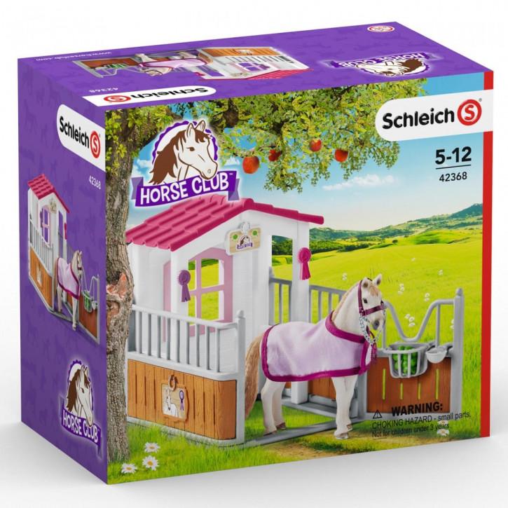 Schleich 42368 Pferdebox mit Lusitano Stute