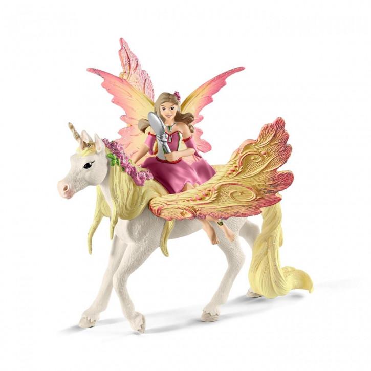 Schleich 70568 Feya mit Pegasus-Einhorn