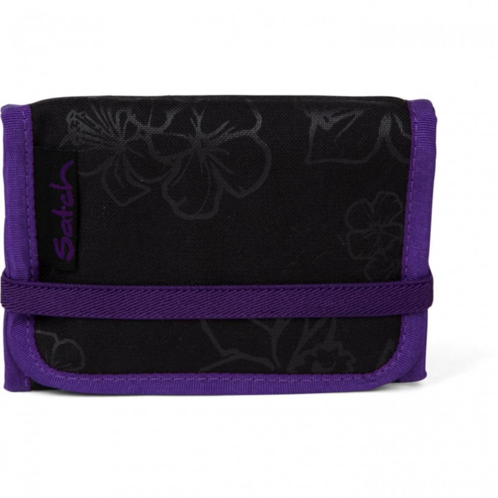 satch Portmonee Purple Hibiscus