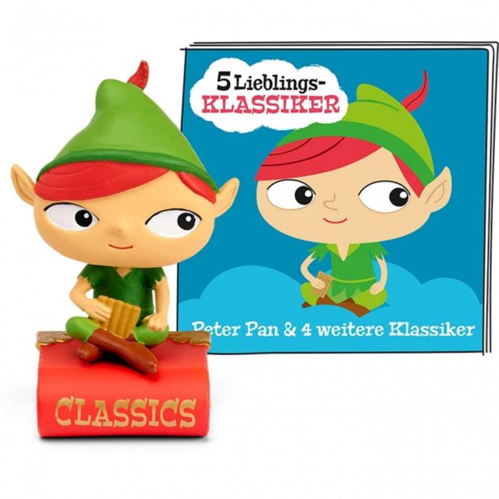 Tonie 5 Lieblings-Klassiker - Peter Pan und weitere Klassiker