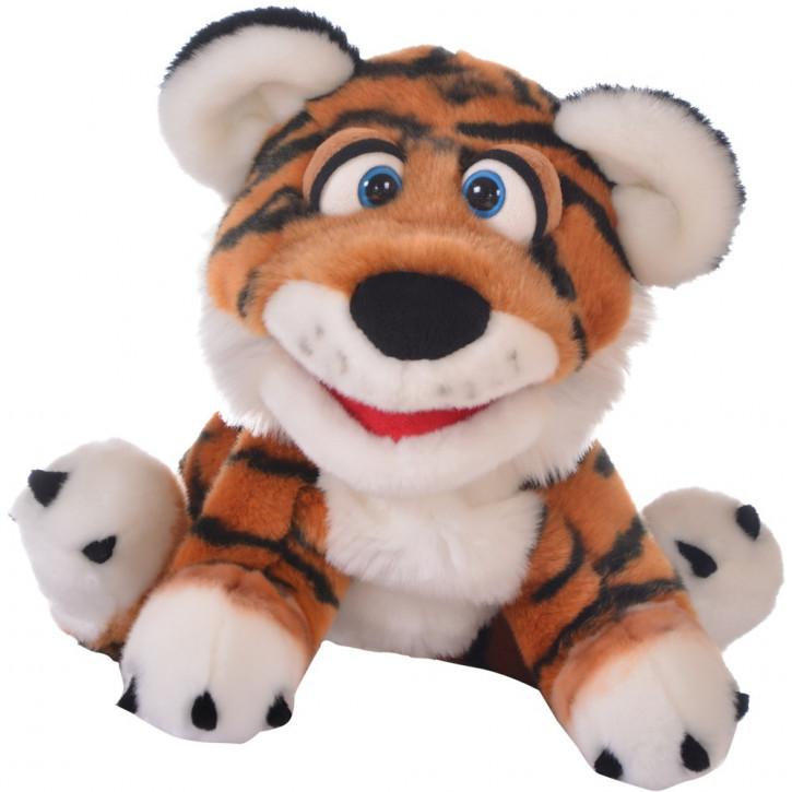 Handspieltier Paco, der Tiger