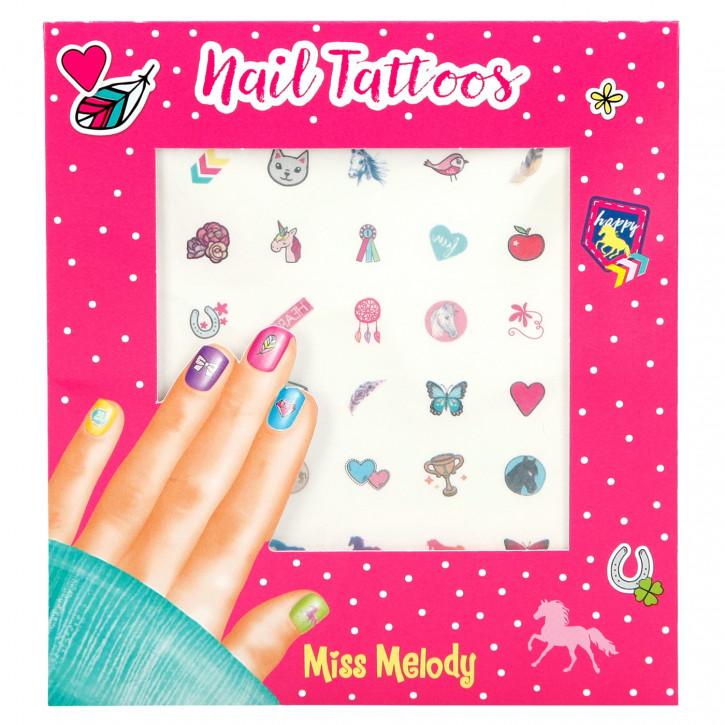 Miss Melody Nail Tattoos