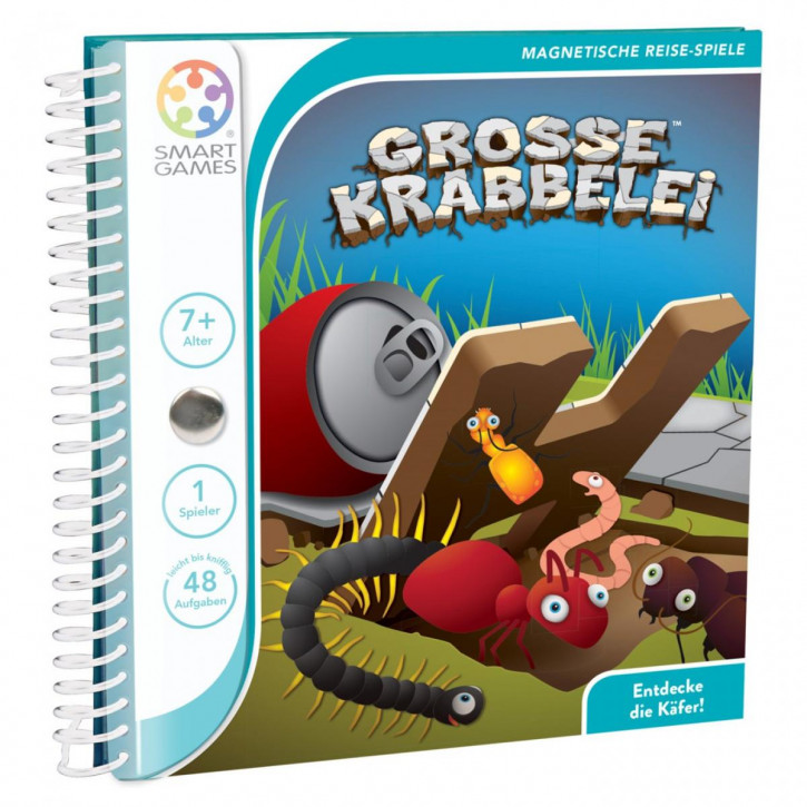 Große Krabbelei - Magnetisches Reisespiel