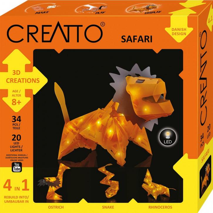 CREATTO Löwe / Safari