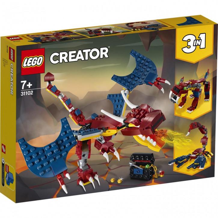 LEGO® Creator Feuerdrache