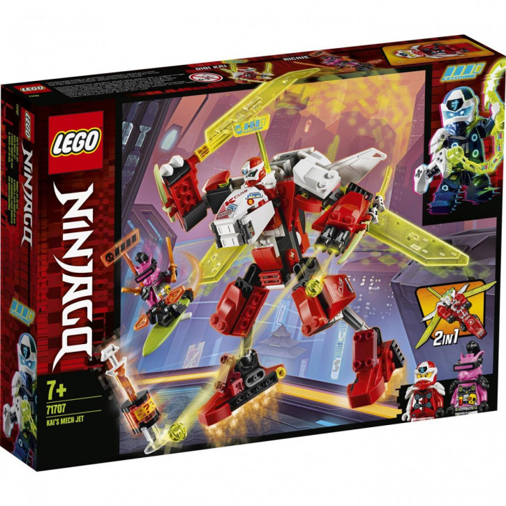 LEGO® NINJAGO® Kais Mech Jet